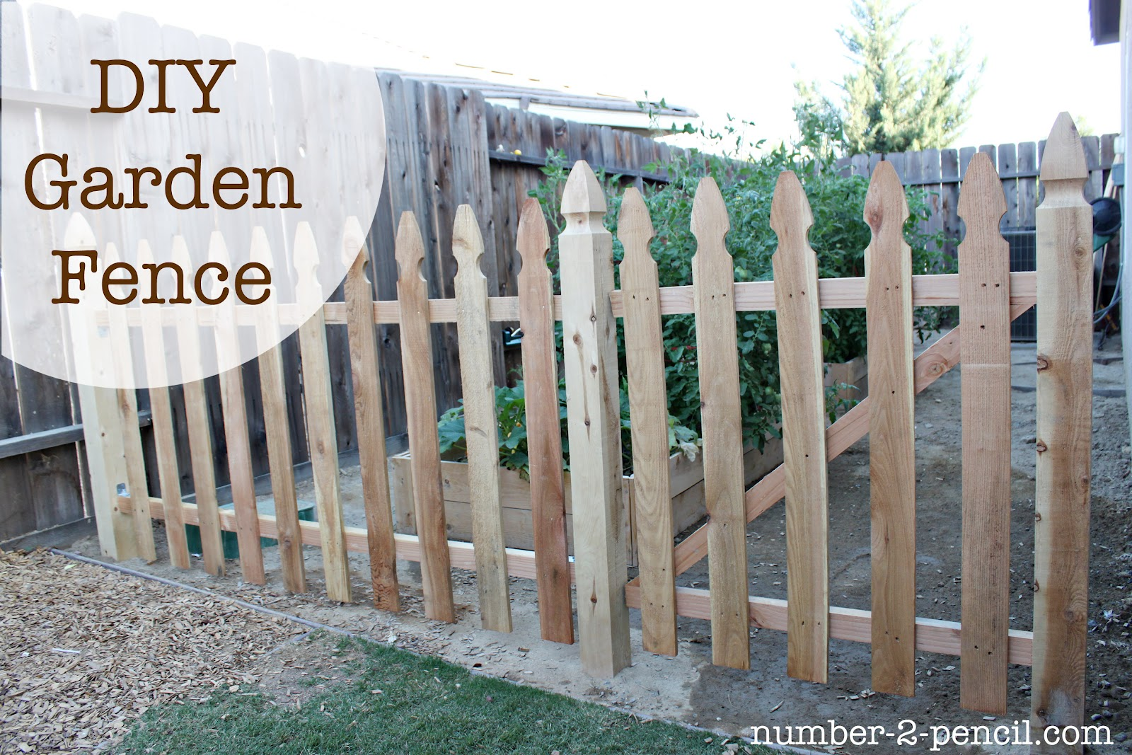 Build An Easy Diy Garden Fence