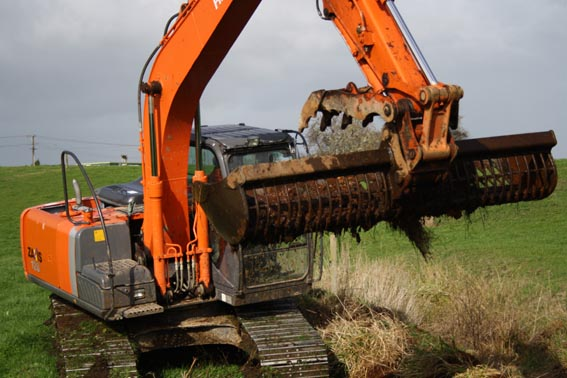 Photo of a digger
