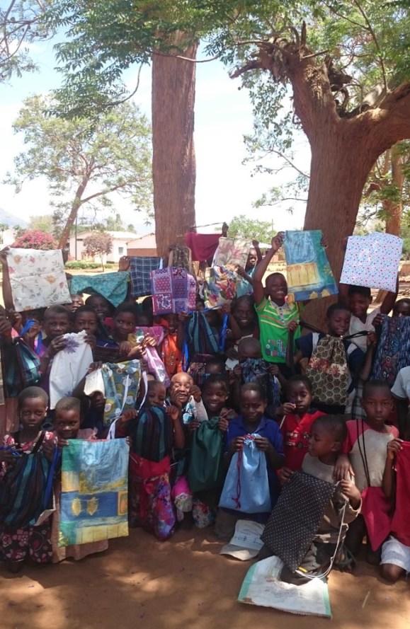 Bags for African school children