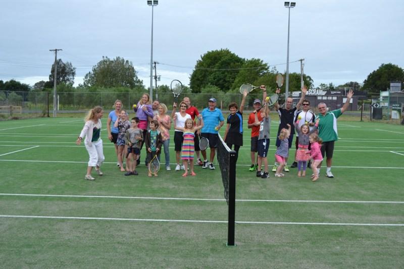 Tennis time in Gordonton