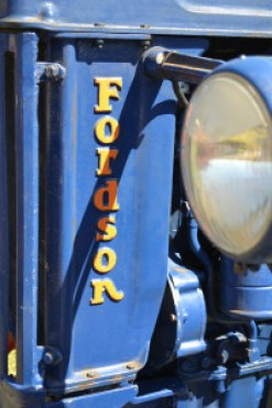 Old Fordson tractor detail