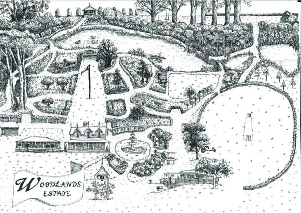 Woodlands garden trail