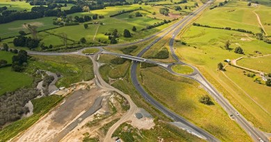 Aerial of bypass