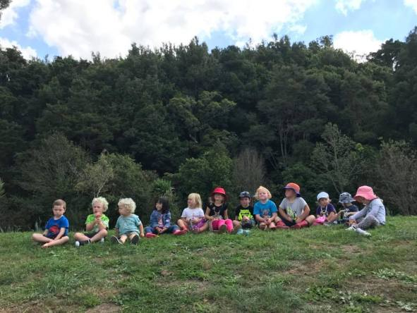 """We're so lucky to have such a wonderful area to explore just up the road from the playcentre. Thank you to those volunteers who look after and preserve Pukemokemoke for our whanau and generations to come!"""
