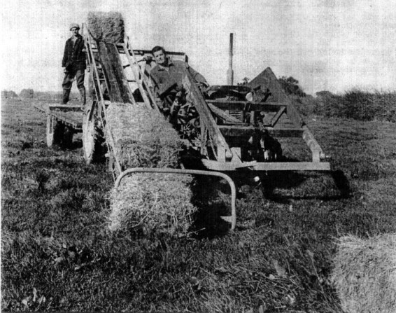 Historic Hay stacker