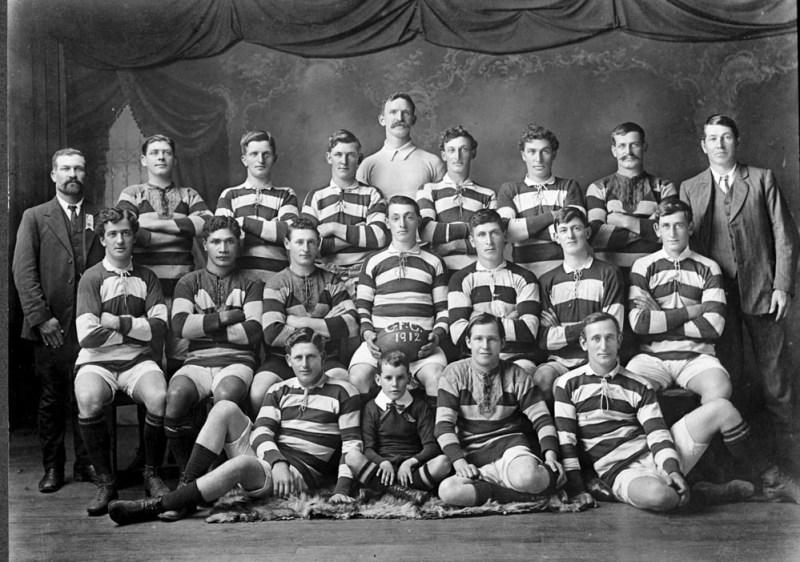 Photo of Gordonton Rugby Club 1912