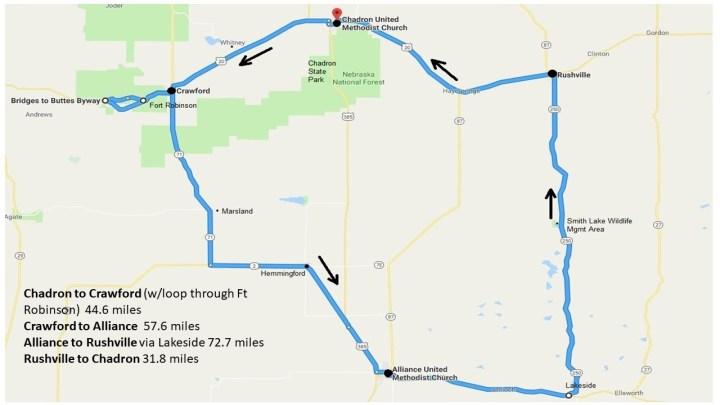 Numb Nebraska United Methodist Bike Ride For Hunger