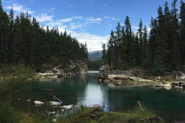 Jasper, Alberta lake
