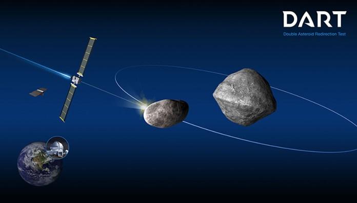 La Nasa va percuter un astéroïde pour s'entraîner à défendre la Terre en  2022