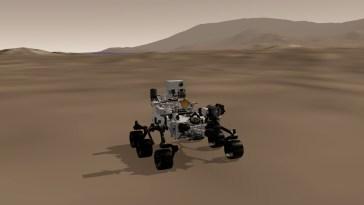 Pilotez le rover Perseverance (presque) comme si vous étiez avec lui sur Mars