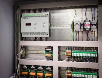Шкаф автоматики приточно-вытяжной вентиляции