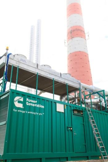 Газо-поршневой генератор в Речице