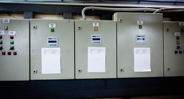 Шкафы автоматики вентиляционных машин на базе PCD2.M150