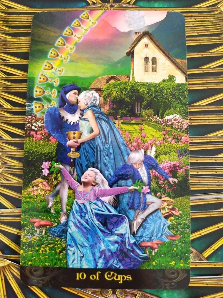 Tarotová karta Tarot Illuminati s názvom