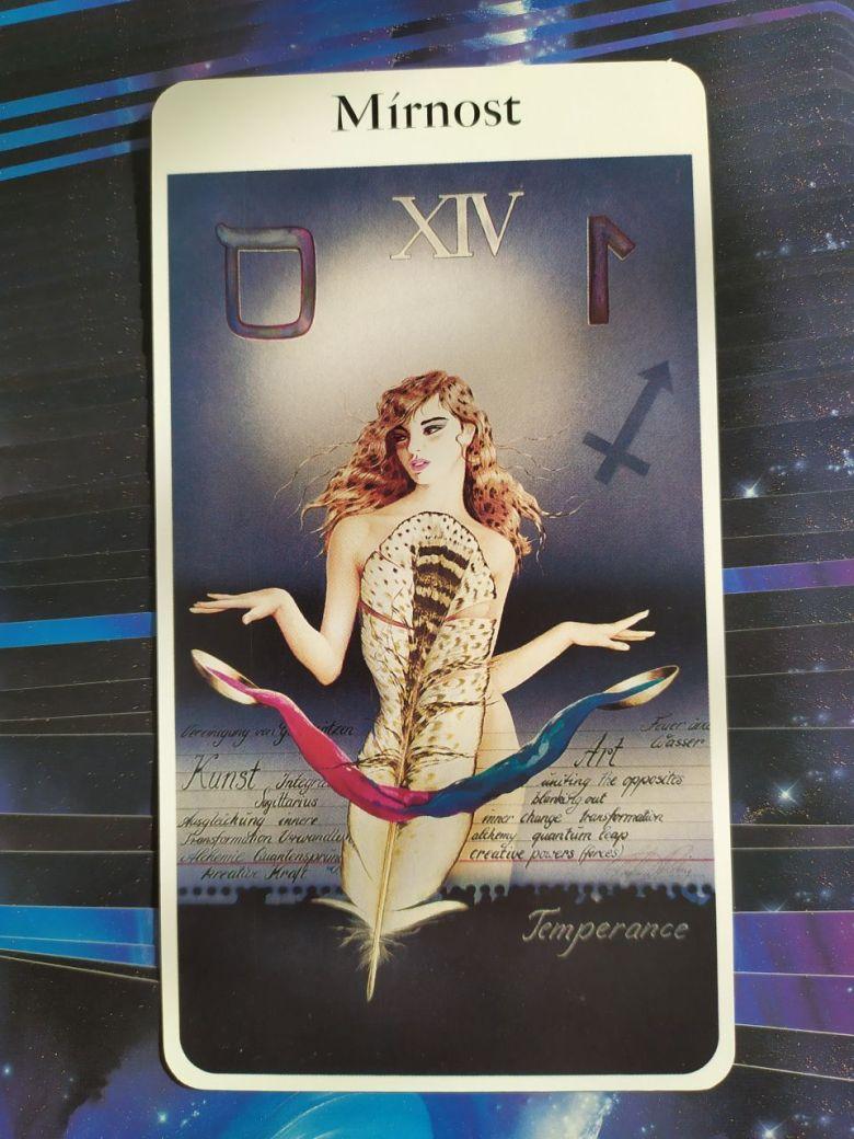 Tarotová karta Rohrig Tarot s názvom