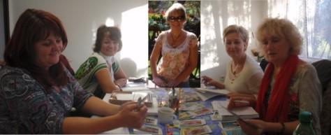 foto z kurzu Tarotu snov