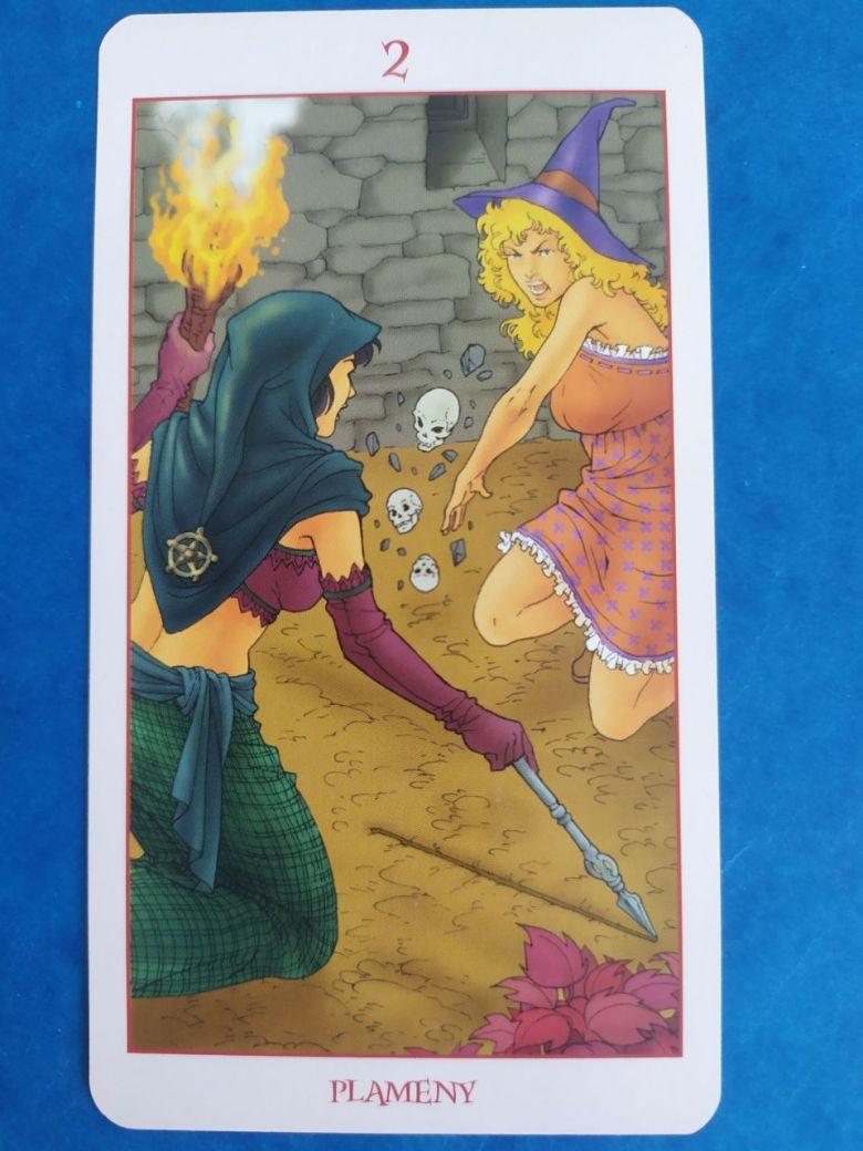 Tarotová karta Witch Tarot s názvom