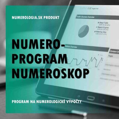 produkt Numero-program Numeroskop