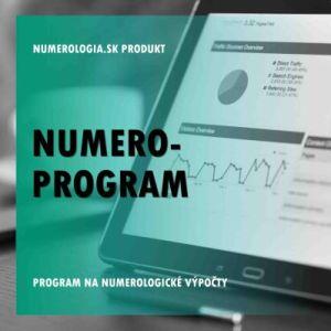 produkt Numero-program