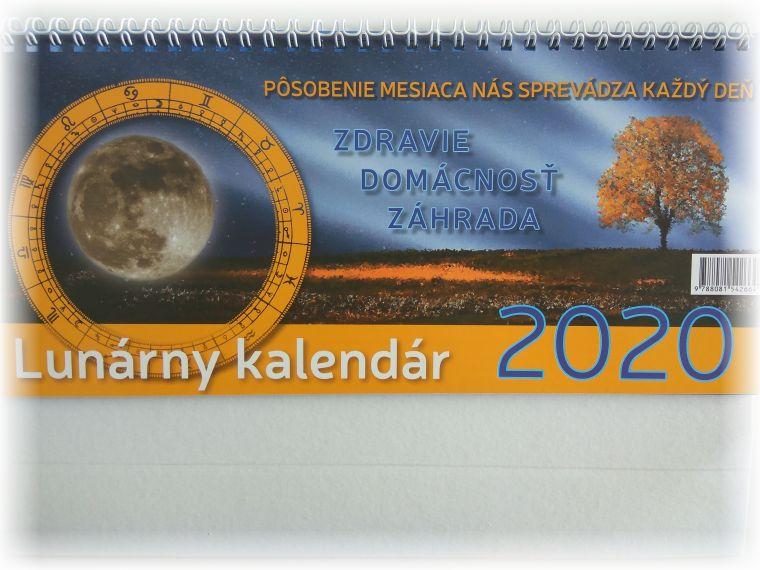produkt Lunárny kalendár 2020