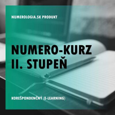 produkt Numero-kurz II. stupeň korešpondenčný