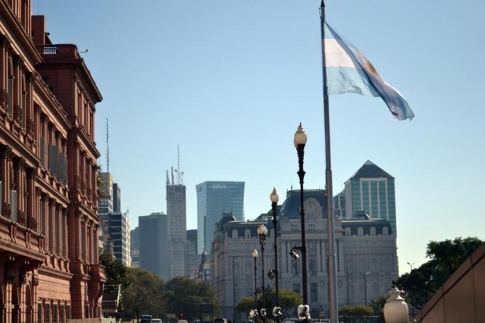 Plaza de Mayo, Buenos Aires. Credits to Alessandro Derchi.