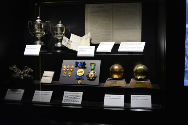 La sezione dedicata a Di Stefano nel museo del Real Madrid   numerosette.eu