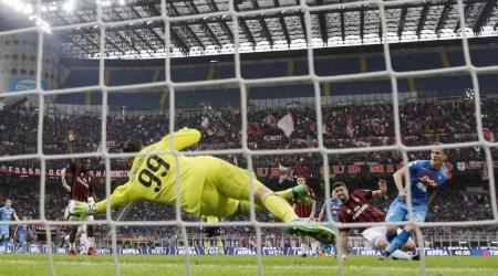 Donnarumma fa 100 in Serie A con una parata epica contro Milik all'ultimo minuto   Numerosetto Magazine