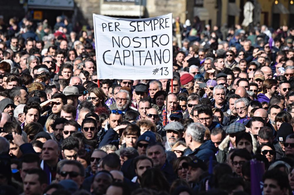 L'ultimo saluto a Davide Astori | numerosette.eu