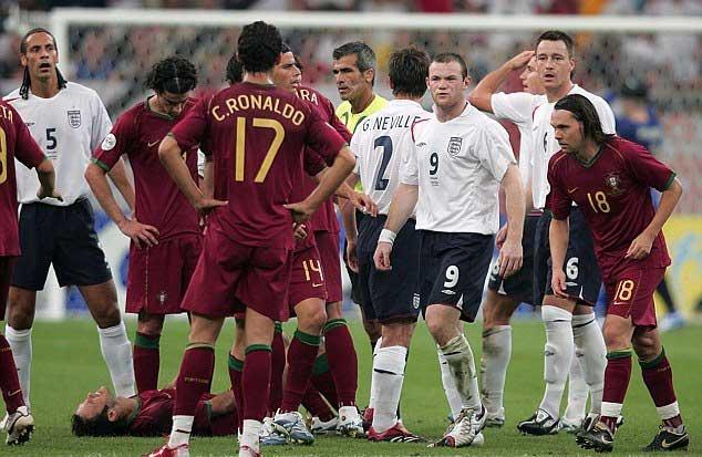 Cr7 e Wayne Rooney Germania 2006 | Numerosette.eu
