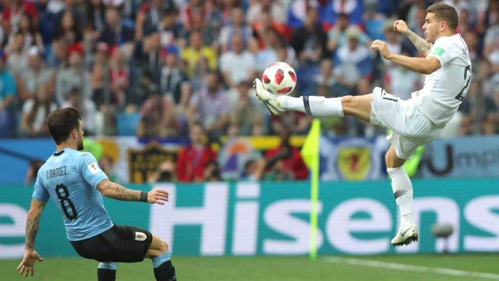 Lucas Hernández vs Uruguay   Numerosette.eu