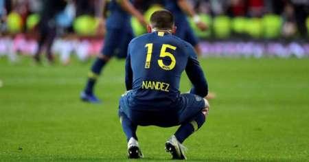 Nandez con la maglia del Boca | Numerosette Magazine