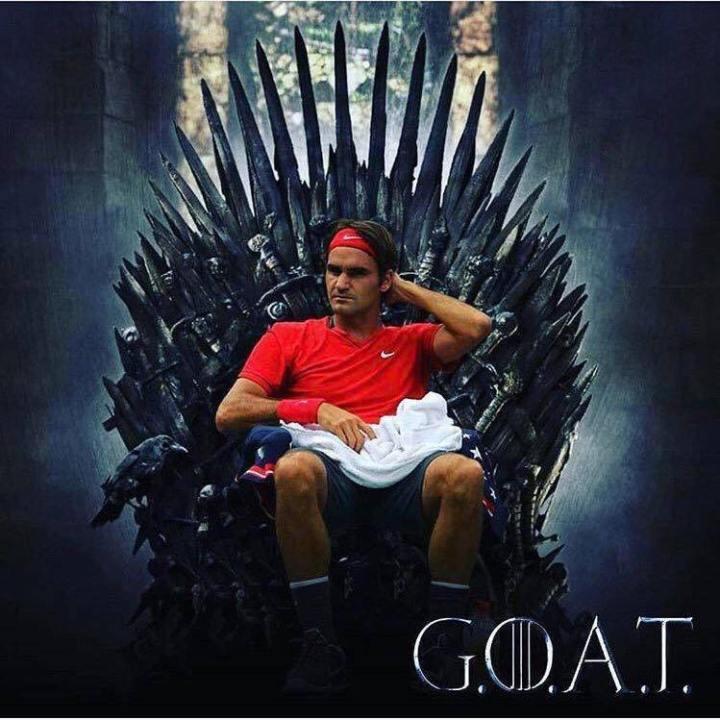 Federer sul Trono di Spade | Numerosette Magazine