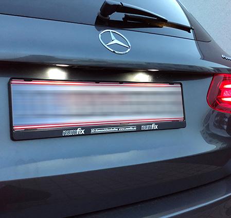 Mercedes GLC AMG Kennzeichenhalter