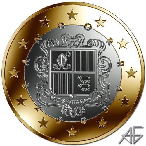 1 EURO ANDORRA
