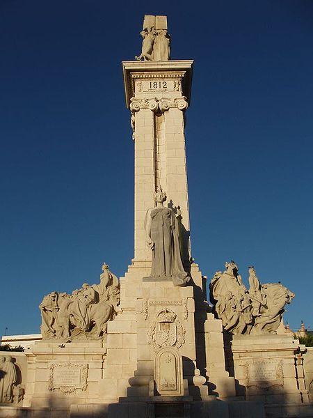 Monumento de 1912 para conmemorar el centenario de la Constitución
