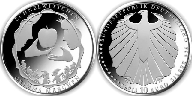 10 euros alemania 2013 blancanieves