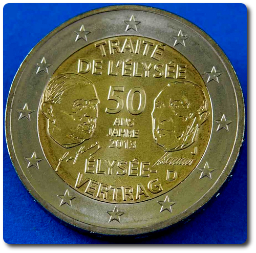 2 euros cc Alemania 2013