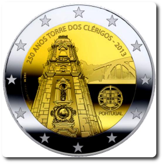 2 euros cc portugal 2013