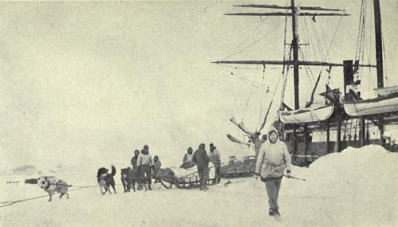 Fotografía real de la expedición