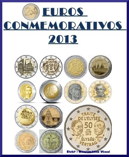 2 euros conmemorativos 2013