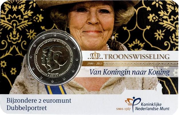 Coincard 2 euro holanda 2013