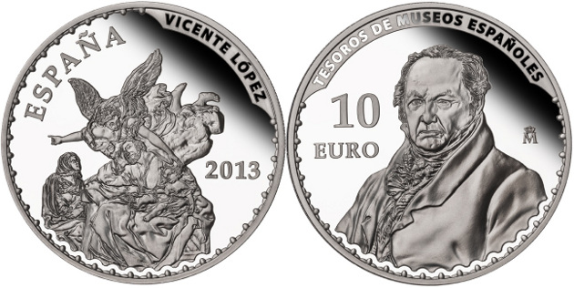 10 Euro Vicente Lopez
