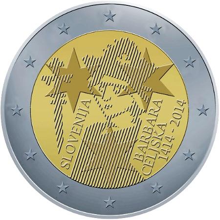 2 euro eslovenia 2104