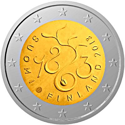 2 euro finlandia 2013