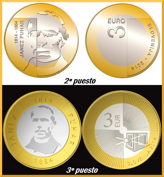 3 euro eslovenia 2014 2 y 3