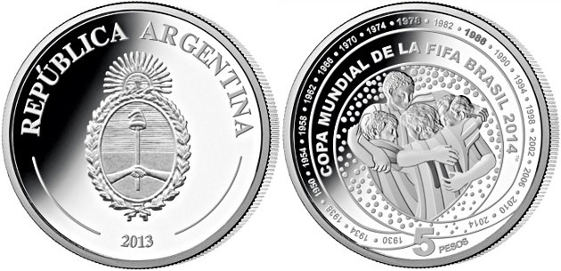5 pesos argentina