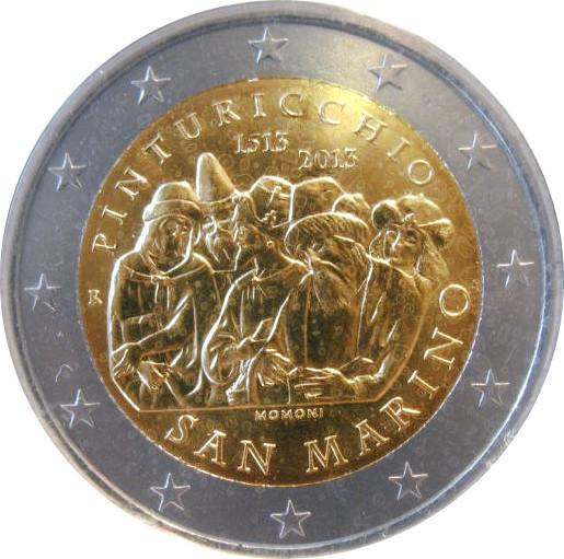 2 euro san marino 2013
