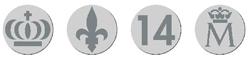 30 euros Felipe VI - imagen latente cuadruple