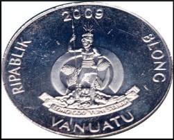 El anverso de las monedas no cambia, mantiene el escudo de armas del país en todos los valores.